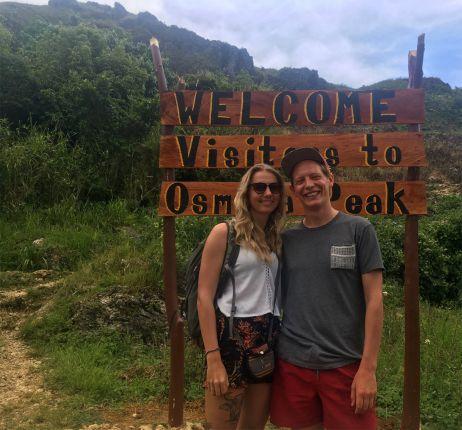 Wanderung zum Osmena Peak