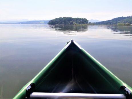 Mit dem Faltboot unterwegs