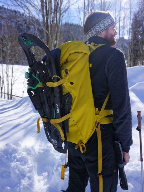 Perfekt für Schneeschuhtouren