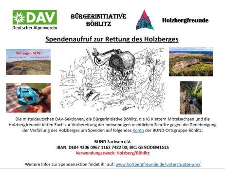 Rettet den Holzberg – ein Update in schwierigen Zeiten
