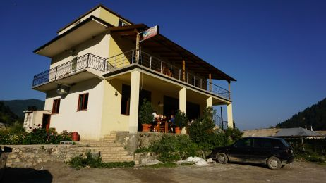 Unser Unterschlupf: Das Restaurant Hotel Radomira