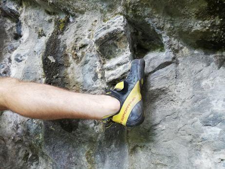 Getestet in der dunklen Wand in Steinicht (Vogtland)