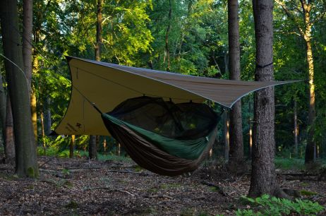 Erste Nacht – Klassische Waldübernachtung