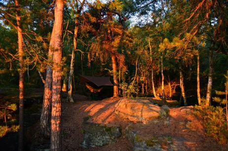 Dritte Nacht – Hoch auf einem Felsen