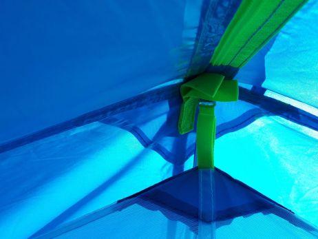 Aurora 2P - Befestigung Außen/Innenzelt