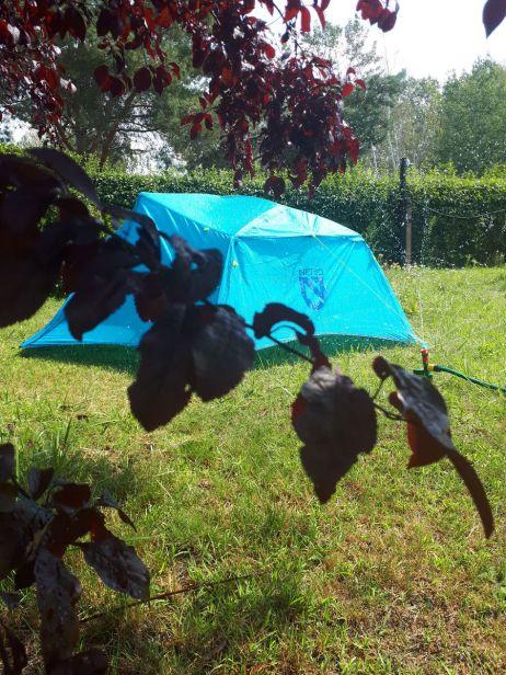 Testambiente im heimischen Garten am See :)