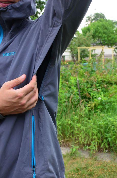 EvoDry Torreys Jacket - Lange Unterarmreißverschlüsse