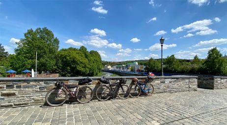 Räder für die Rennsteig-Tour