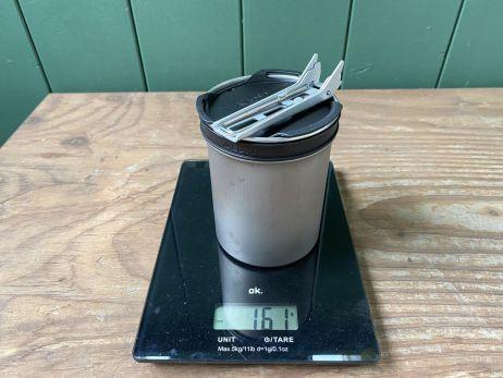 Soto Thermostack - Gewicht gesamt (exl. Packsack)