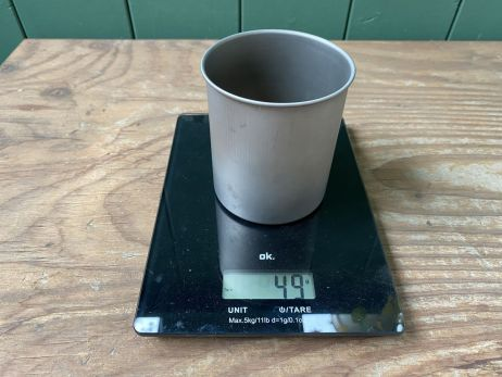 Soto Thermostack - Gewicht Titantopf