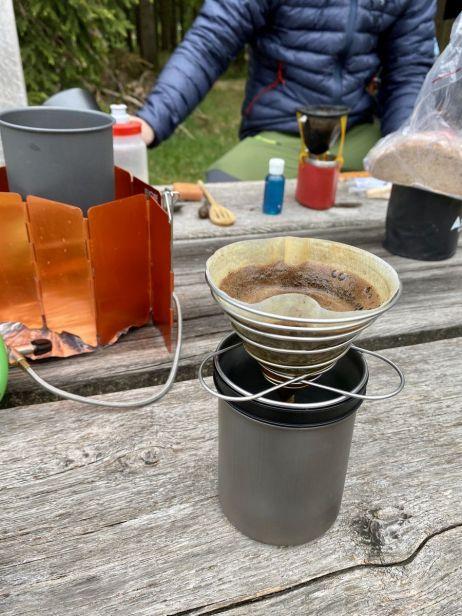 Lecker Kaffee mit dem Soto Thermostack Original