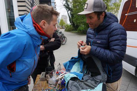 Genau hingeschaut: Patagonia repariert viel und gern