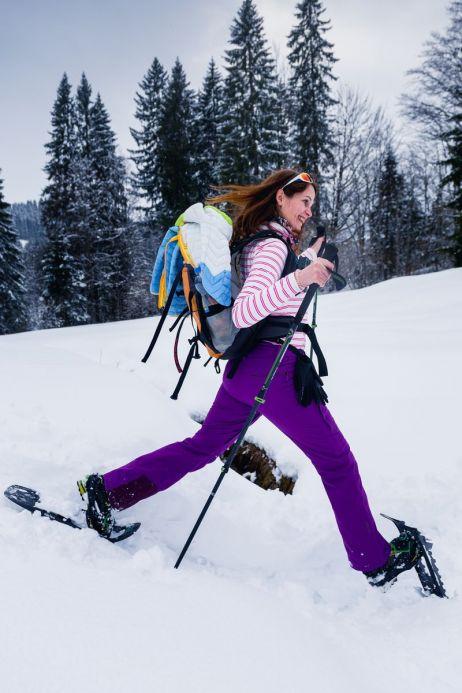 Spaß beim Bergablaufen!