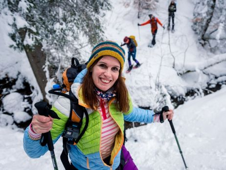 Testgebiet: Schneehang