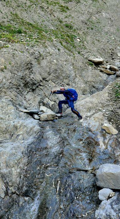 Sicherheitsgewinn durch Trekkingstöcke