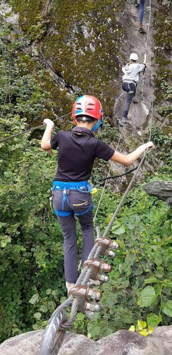 Klettersteig mit Nachwuchs