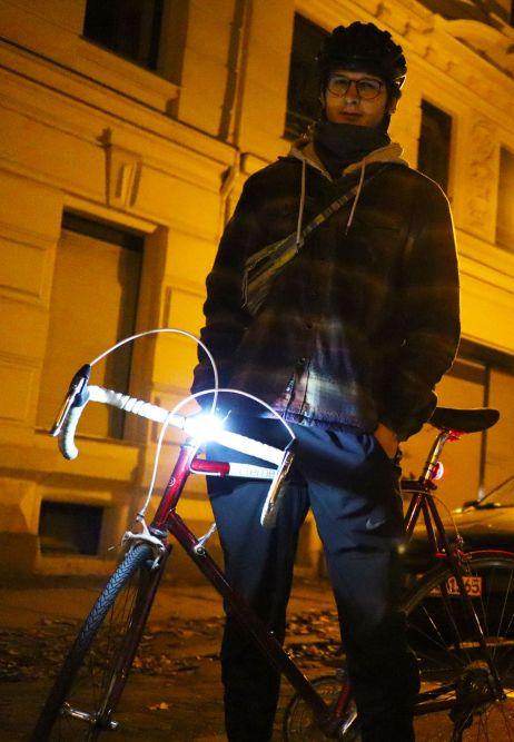 Mit dem Rad in Leipzigs Straßen unterwegs =)