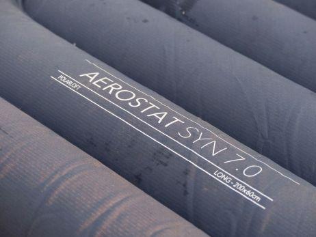 Die Aerostat Synthetic ist mit Kunstfaser gefüllt