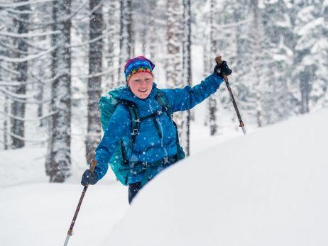 Trocken durch den Schnee mit dem Storm jacket10
