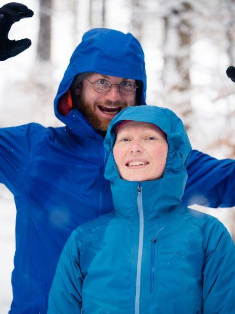 Beware! Schneeyeti in Blau!