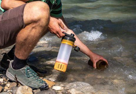 Save trinken: Mit dem Geopress™ Purifier an französischen Gewässern