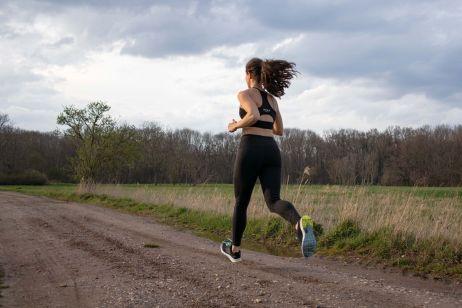 Laufen mit dem Stratos Shift Bra