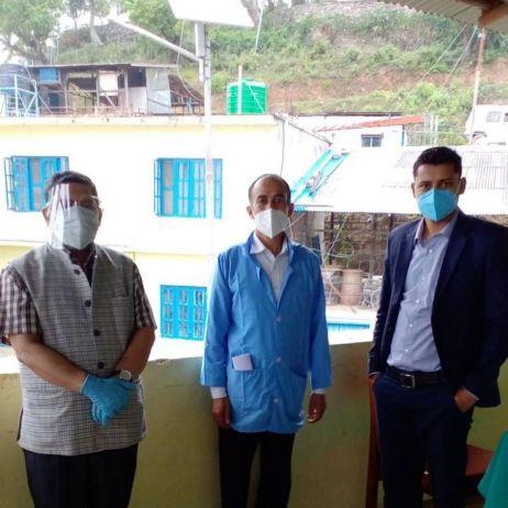 Nepalmed: Amppimal Testkampagne
