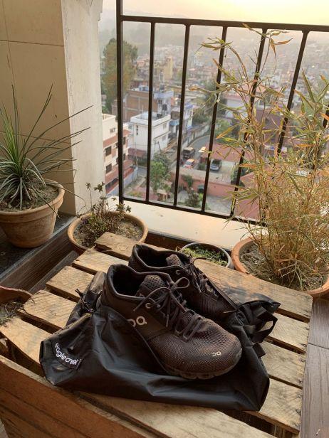 Der Pack-It™ Isolate Shoe Sac für Schuhe