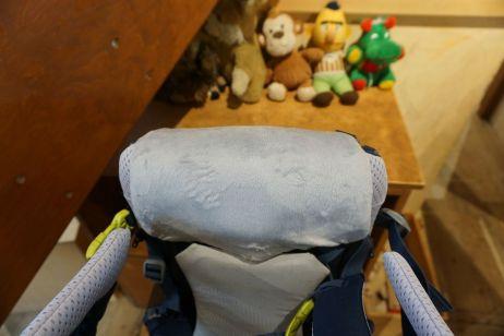 Deuter Kid Comfort Active: Abgespecktes, leichteres Kopfpolster