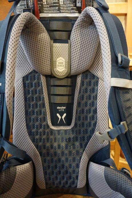 Deuter Kid Comfort Active: Leicht verstellbares Rückensystem