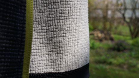 Toll: Das Croz II Fleece generiert viel weniger Mikroplastik als vergleichbare Fleece