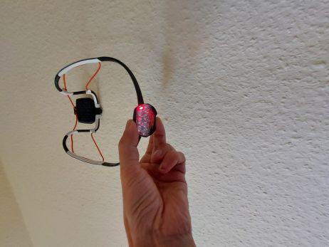 Petzl IKO Core - Rote LED=Sicherheitsmodus