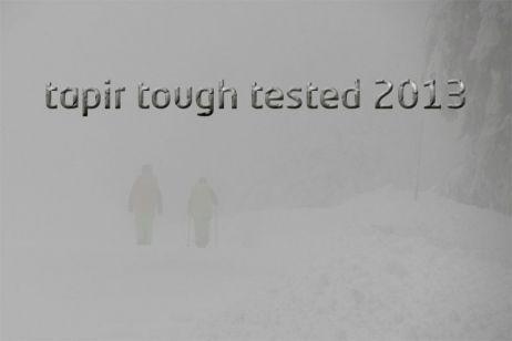 tapir tough tested geht in die nächste Runde: Auto(an)reise war gestern, die Zeit ist reif für neue Wege