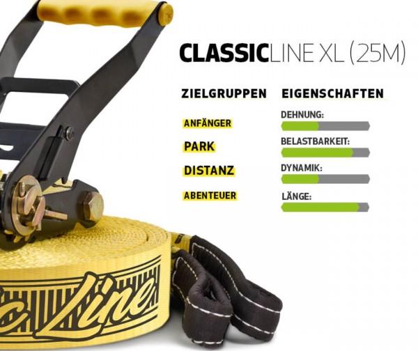 Slackline Classicline XL Treewear