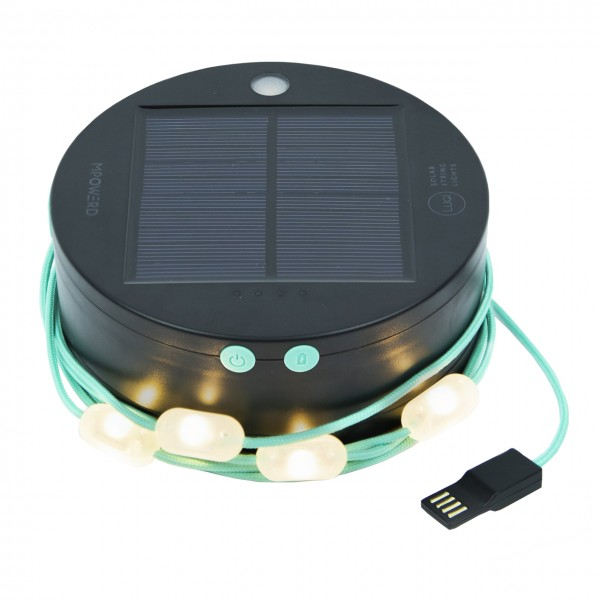 Solarlampe Luci String