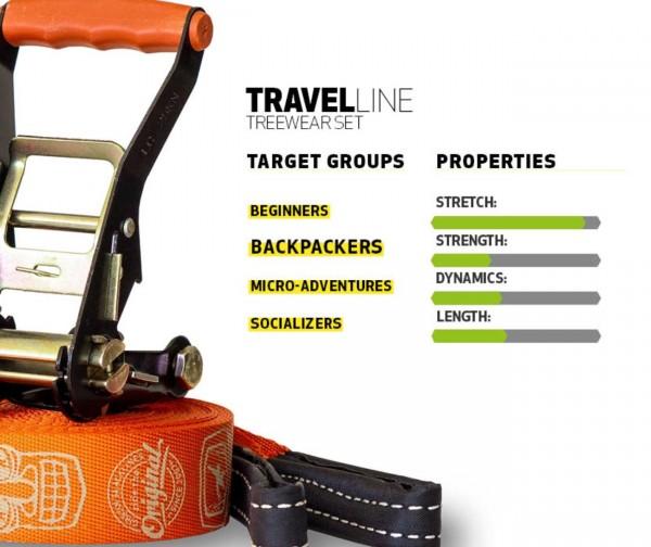 Slackline Travelline Treewear