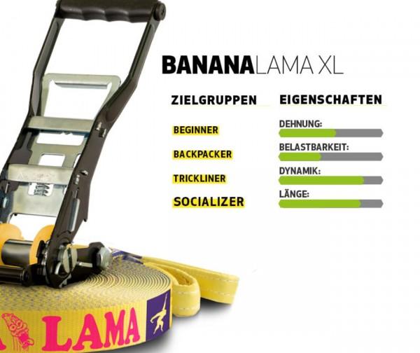 Slackline Banana Lama XL