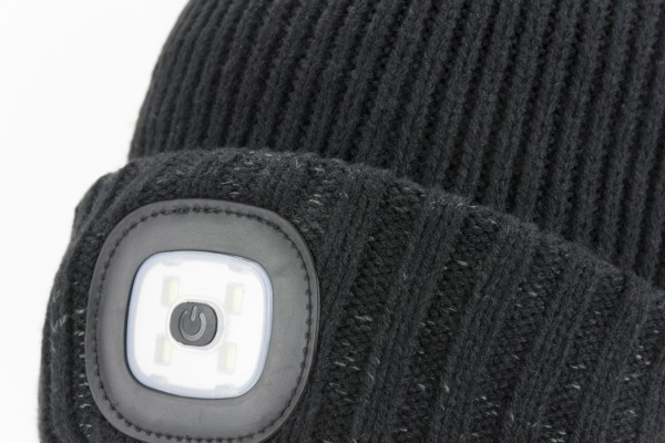 Cold Weather LED WP Roll Cuff Beanie