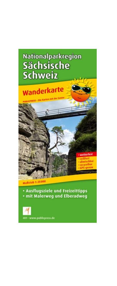 Wanderkarte NP Sächsische Schweiz Preisvergleich