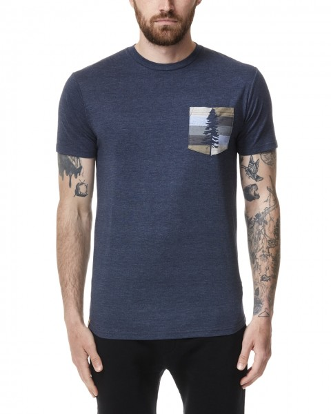Spruce Stripe Pocket T-Shirt Men