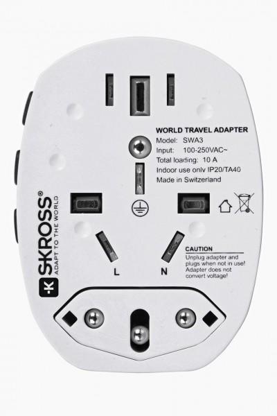 Steckeradapter Skross World