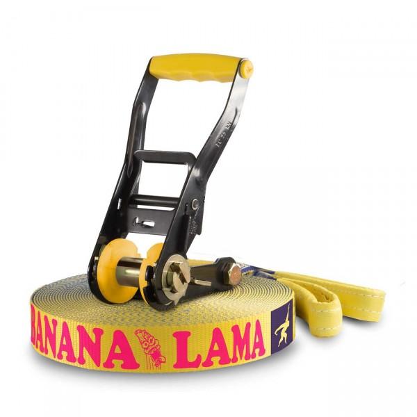 Slackline Banana Lama