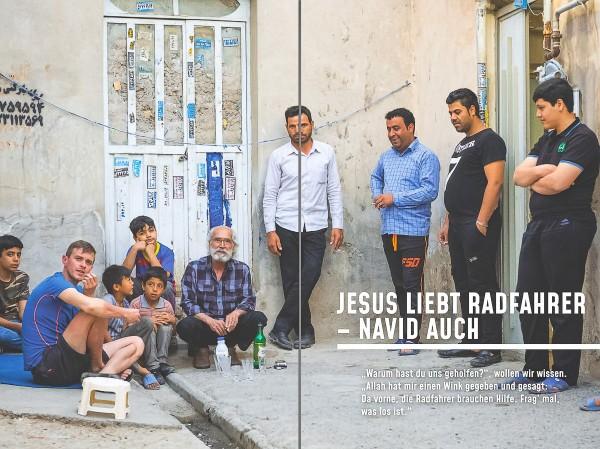 JESUS LIEBT RADFAHRER - NAVID AUCH!
