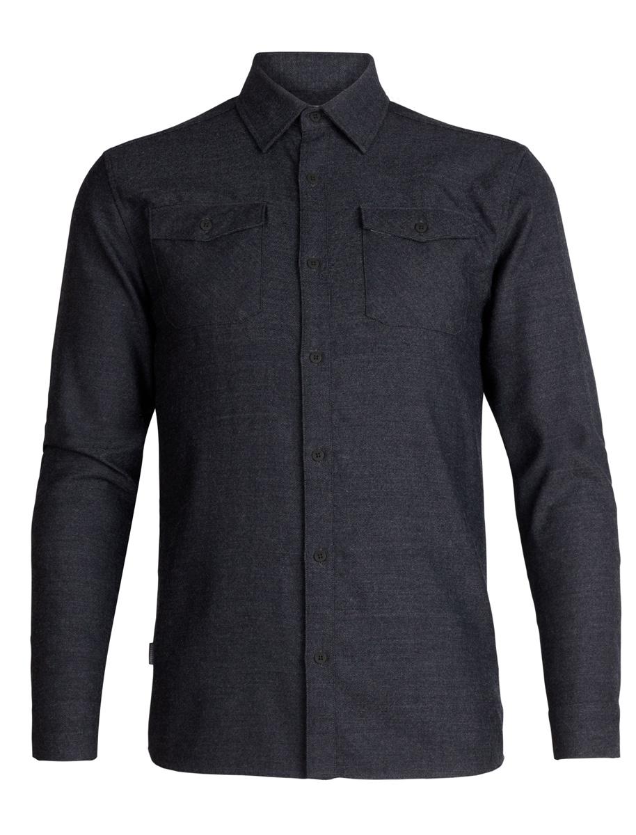 Icebreaker Lodge LS Flannel Shirt Men