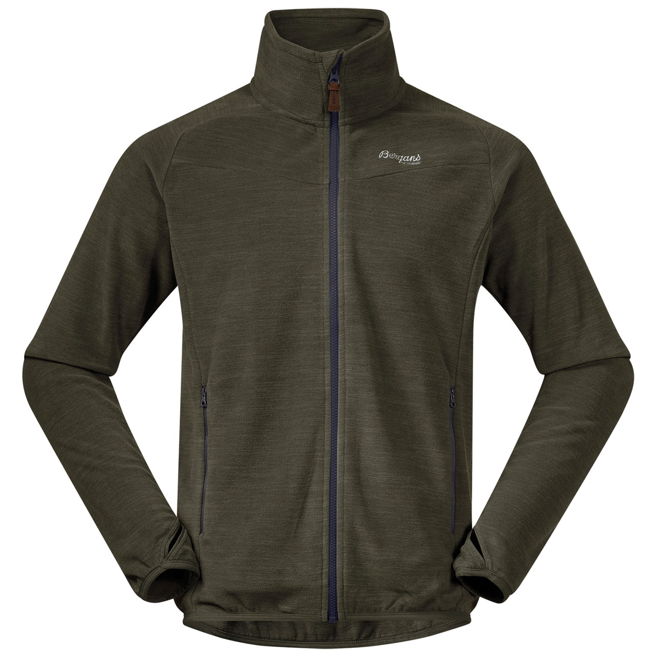 Bergans Hareid Fleece Jacket NoHood Men   tapir store